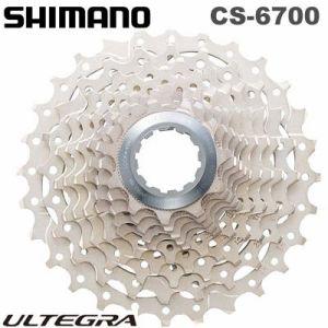 【在庫あり】SHIMANO(シマノ)CS-6700ULTEGRA(アルテグラ)10スピードカセットスプロケット