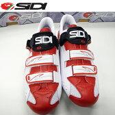 【送料無料】【在庫あり】SIDI(シディ)ジェニウス5FIT カーボン(WH/RED)シューズSIDIシューズ