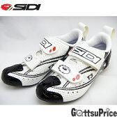 【在庫あり】【送料無料】SIDI(シディ)T-3 AIR WHT/BLK サイクルシューズ【自転車SIDIトライスロンシューズ】