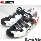 【送料無料】SIDI(シディ)ジェニウス5FIT カーボンメガ(ホワイト/ブラック/レッド)サイクルシューズ【自転車シューズ SIDI】