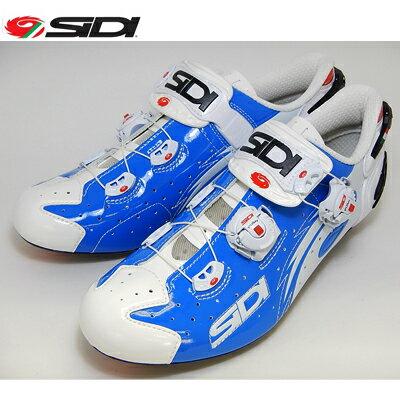 【自転車シューズ】SIDI(シディ)WIREワイヤー(ブルー/ホワイト)サイクルシューズ【送料無料】