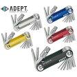 ADEPT アデプト シャード 10 10ツール携帯工具