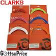 【在庫あり】CLARKS(クラークス)ステンレス ブレーキ ケーブルキット カラー ロード/MTB 8012