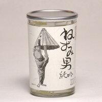 千代むすびねずみ男純吟ワンカップ180ml日本酒鳥取地酒