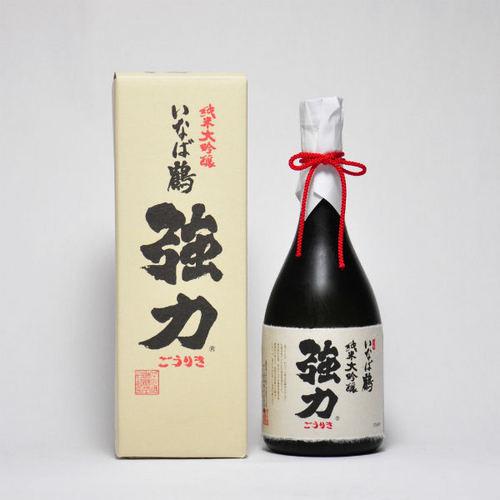 いなば鶴 純米大吟醸 「強力(ごうりき)」 720ml 日本酒 鳥取 地酒 ギフト お歳暮 父の日 お中元