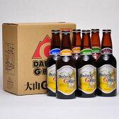 世界一のビール 大山Gビール 330ml ×6本セット 要冷蔵 鳥取県産 地ビール WBA 世界第1位 代引不可 ギフト お歳暮 父の日 お中元 プレゼント用におすすめ
