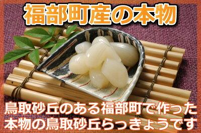鳥取特産_アチーブエモーション【 砂丘らっきょう 甘酢漬け 】