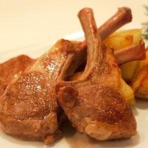 肉 ラム 羊 ニュージーランド産 仔羊肉 ラムチョップ 240g以上 5本入り 1本50g前後 バーベキュー グルメ 骨付き 冷凍同梱可能