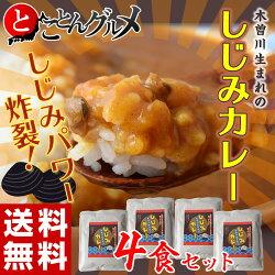 「木曽川生まれのしじみカレー」4食