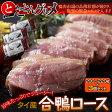 タイ産「合鴨ロース」 200g〜220g×3パックセット ※冷凍 【冷凍同梱可能】☆