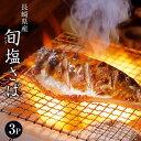 魚 さば サバ 鯖 送料無料 長崎県産 旬サバ [ときさば] 塩さば 1袋2枚入り 約220g×3P 干物 ご飯のおかず 焼き魚 冷凍 冷凍同梱可能