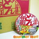 日清食品 北のどん兵衛 天ぷらそば(北海道限定)×12個入 ご当地B級グルメのカップ麺 をお取り寄せの商品画像