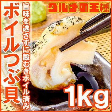 送料無料 つぶ貝 ツブ貝 煮つぶ貝 ボイルつぶ貝 1kg Lサイズ たっぷり食べるならかなりお得【つぶ ツブ つぶ貝 ボイルツブ貝 刺身 寿司 おでん 築地】【smtb-T】r