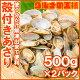 アサリ 殻付きあさり 1kg 500g×2 ボイル 無添加 柔らかく旨味があり、良いダシが…
