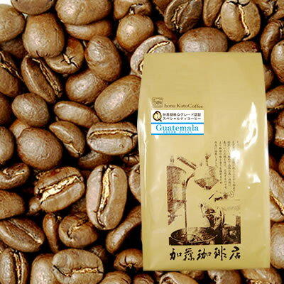 [500gお得袋]グァテマラ世界規格Qグレード珈琲豆(ガテマラSHB)/グルメコーヒー豆専門加藤珈琲店/珈琲豆 ¥2289