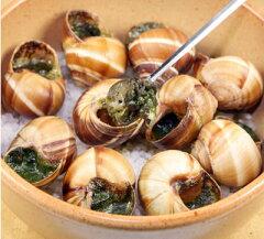 オーブンで焼くだけでフランス料理店のエスカルゴ♪【殻付エスカルゴ(ブルゴーニュ風バター詰...