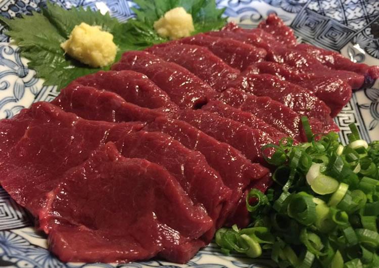 馬肉, 赤身  200g 5780kg