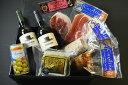 食通の方への贈り物に最適です!【グルメセレクションギフト/生ハムとワインとチーズを楽しむギ...