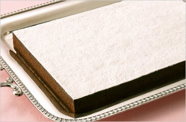 冷凍 ガトーショコラクラシックフリーカット たて約24cm×よこ約32cm×高さ約2.2cm 1ケース(6ヶ入り)ケース販売 スイーツ/ケーキ