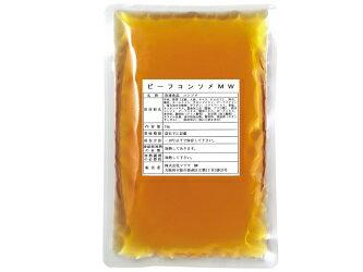 キスコ 冷凍 ビーフコンソメスープ  1Kg 洋食惣菜/スープ