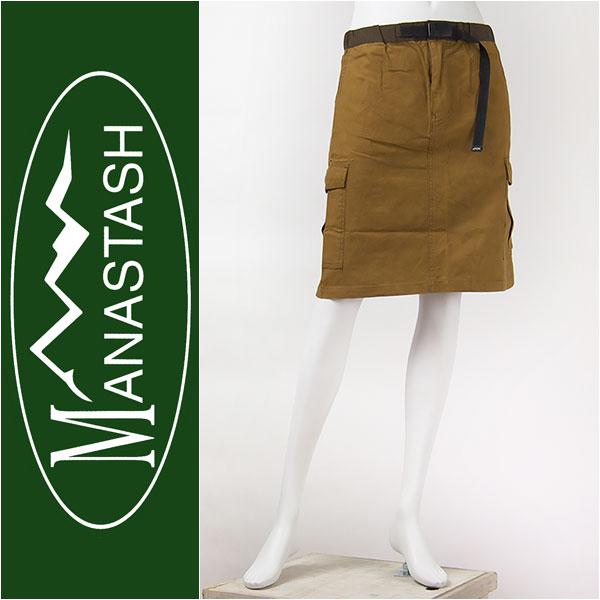 MANASTASH レディース カーゴスカート