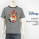 【国内正規品】Disney ディズニー ミッキーマウス 半袖 プリント Tシャツ ロックデザイン Disney S/S MICKEY MOUSE PRINT T-SHIRT GU821079R-911【クリックポスト対応可】