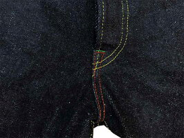 鬼デニム(ONIデニム)ONI-24622oz天然藍歌舞伎耳飾りステッチモデル2019年Typeレギュラーライズスッキリストレートワンウォッシュ