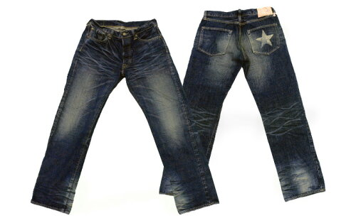 "Sugar Cane(シュガーケーン)STAR JEANS14oz. SUGAR CANE FIBER DENIM LONE STAR JEANS ""5year A..."