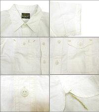 """Eight-G(エイトG)""""半袖ワークシャツ""""8SS-15当店水洗い&自然乾燥8SS-15「P」"""