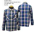 FULLCOUNT(フルカウント)25thOriginalGabardineCheckNelShirts【25THANNIVERSARYITEM】4980EX-2「Blue×Red」FL-4980EX-2メンズアメカジ男性長袖ネルシャツワークシャツ日本製国産