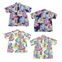 "SunSurfSpecialEdition(サンサーフスペシャルエディション)HawaiianShirt(アロハシャツ)ショートスリーブ""POSEDHURADANCER""ss35481-12SS"