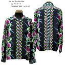 """Sun Surf(サンサーフ)Hawaiian Shirt(アロハ)ロングスリーブ"""" BOMBAX TREE """"ss-27445-17SSメンズ アメカジ 男性 長袖 アロハ 日本製"""