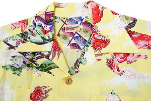 "SunSurf(サンサーフ)HawaiianShirt(アロハ)ロングスリーブ""ORIENTALFESTIVAL""ss-27763-18SS"