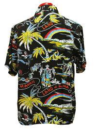 """SunSurf(サンサーフ)SPECIALEDITION(スペシャルエディション)HawaiianShirt(アロハ)ショートスリーブ""""LANDOFALOHADISCOVERD""""SS-37860-18SSメンズアメカジ男性半袖アロハ日本製国産"""