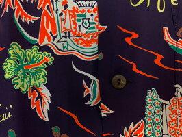 "SunSurf(サンサーフ)ShortsleeveHawaiianShirt(半袖アロハ)""ALOHAHAWAII""SS38313-20SS"