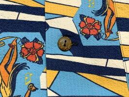 "SunSurf(サンサーフ)THESINGINGSURFRIDERSCOTTONSEERSUCKERSHORTSLEEVEOPENSHIRT(半袖オープンシャツ)""THEBIGWAVE""SS38721-21SS"