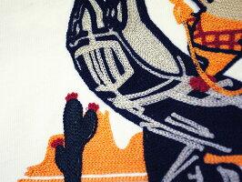 """STUDIOD'ARTISAN(ステュディオ・ダルチザン)9935刺繍長袖Tシャツ""""BlueRodeo""""刺繍No99352018秋モデルスタジオ・ダルチザン9935-18AWメンズアメカジ男性"""
