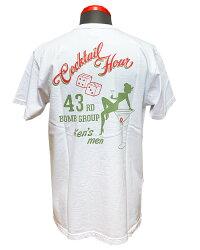 "BUZZRICKSON'Sバズリクソンズ""43rdBOMB.GROUP""Shortsleevet-shirtBR78780-21SS2021年モデル【クリックポスト対応商品(メール便(日本郵便))】"