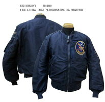 """BUZZRICKSON'SバズリクソンズB-15CA.F.Blue(MOD.)""""B.RICKSON&SONS,INC.MOSQUITOES2016年生産BR13619-16AW"""
