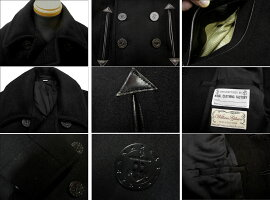 BUZZRICKSON'SバズリクソンズBLACKPEACOATWILLIAMGIBSONCOLLECTIONBR12394