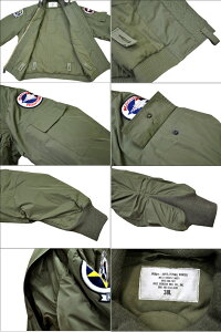 BUZZRICKSON'SバズリクソンズTypeJ-WFSWEPVF-92SILVERKINGS2017年生産BR13912-17AWフライトジャケットミリタリーメンズ男性新品