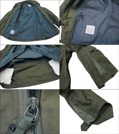 Buzz Rickson's Coat, Man's, Field, Type M-65 BR11702: Olive Drab