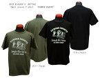 """BUZZ RICKSON'S バズリクソンズ """"BOMBER BARONS""""半袖Tシャツ2018年モデルBR77942-18ss【代引き不可】【クリックポスト対応商品(メール便(日本郵便))】メンズ アメカジ 男性 半袖Tシャツ"""
