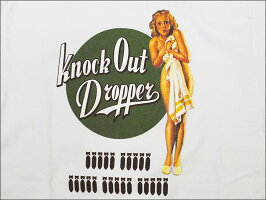 "BUZZRICKSON'SバズリクソンズGILELVGRENCOLLECTION2018年モデル""KNOCKOUTDROPPERS""長袖TシャツBR68082-18AWメンズアメカジ男性長袖Tシャツ"
