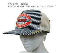 """TOYSMcCOY(トイズマッコイ)MESHCAPHICKORY""""TOYSMcCOYULTIMATESEEKER""""TMA1812「P」メンズアメカジ男性帽子メッシュキャップ"""