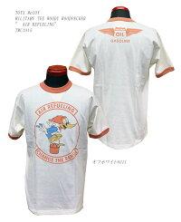 "TOYSMcCOY(トイズマッコイ)MILITARYTEEWOODYWOODPECKER""AIRREFUELING""TMC1915「P」メンズアメカジ男性半袖"