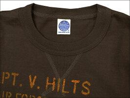 "TOYSMcCOY(トイズマッコイ)MILITARYTEESHIRTARMYAIRFORCES""CAPT.V.HILTS""TMC1842「P」メンズアメカジ男性半袖"