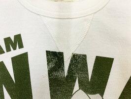 "TOYSMcCOY(トイズマッコイ)MILITARYTEEWOODYWOODPECKER""TEAMWWP""TMC2004「P」メンズアメカジ男性半袖Tシャツ"