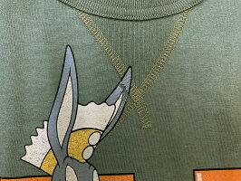 "TOYSMcCOY(トイズマッコイ)MILITARYTEEBUGSBUNNY""AIREXPEDITIONARY""TMC2022「P」メンズアメカジ男性半袖Tシャツ"