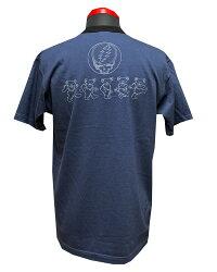 "TOYSMcCOY(トイズマッコイ)GRATEFULDEADTEE""FLAGOFDANCINGBEAR""TMC2142「P」未洗メンズアメカジ男性半袖Tシャツ"